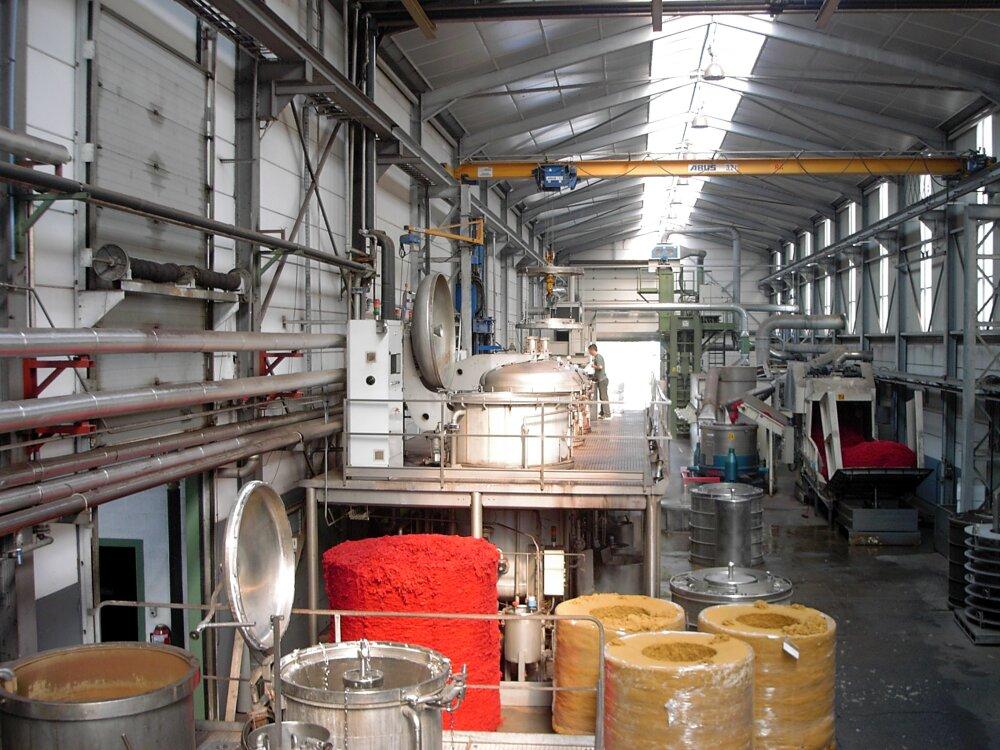 Линия окрашивания волокна, пряжи и текстиля Rousselet CdB