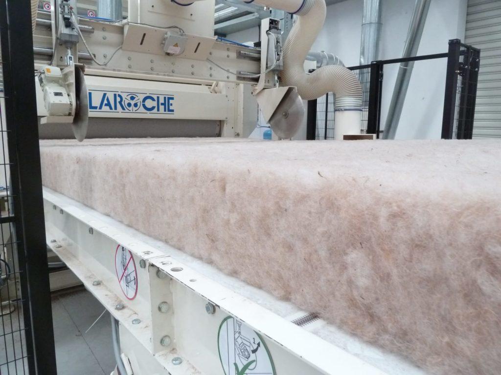 Производсто объемных нетканых материалов AIRLAY LAROCHE