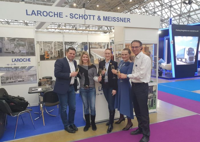 Laroche и Schott&Meissner на Инлегмаш 2019 в Москве